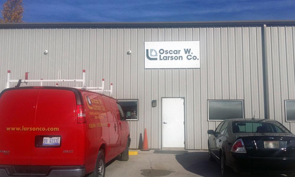 Oscar W  Larson Co  | About Us