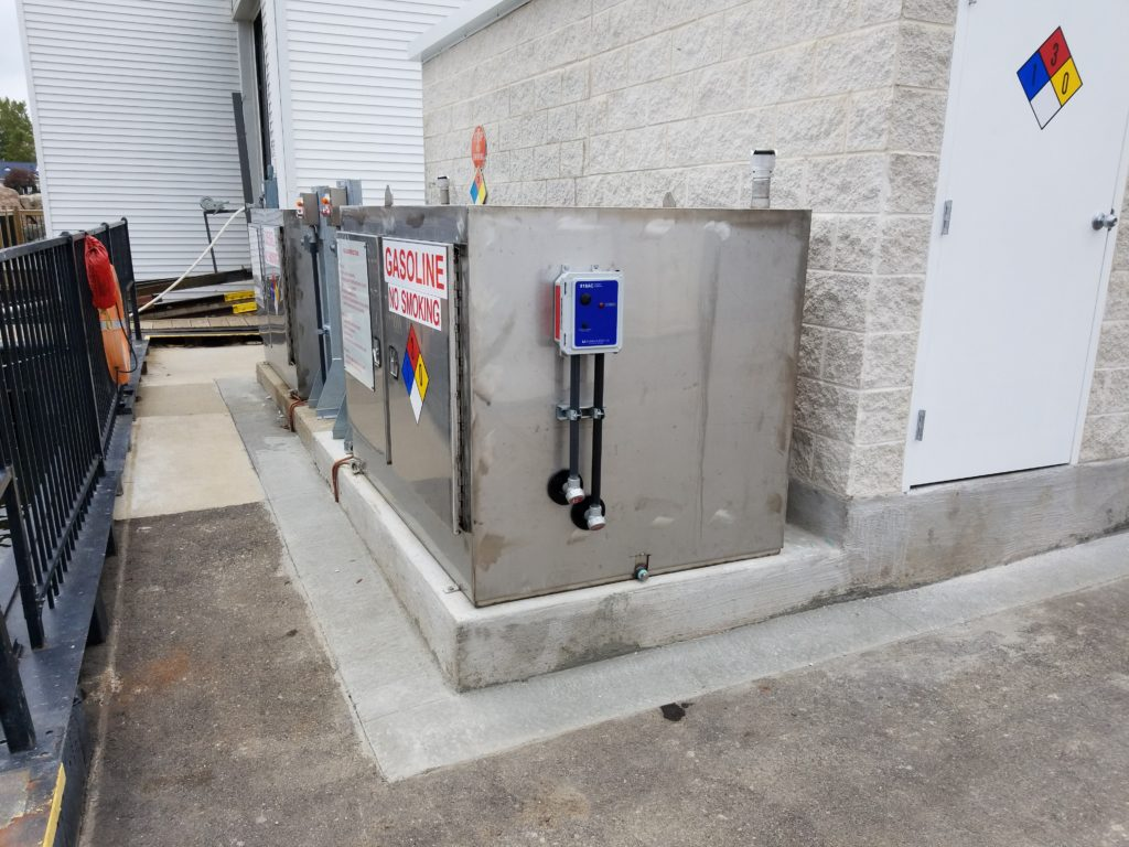 Us Coast Guard Station Oscar W Larson Co Projects Surface Wiring Conduit Electrical Distribution Pushbutton Stations Control Equipment And Associated For The New Fuel Pumps Dispensers E Stop Systems