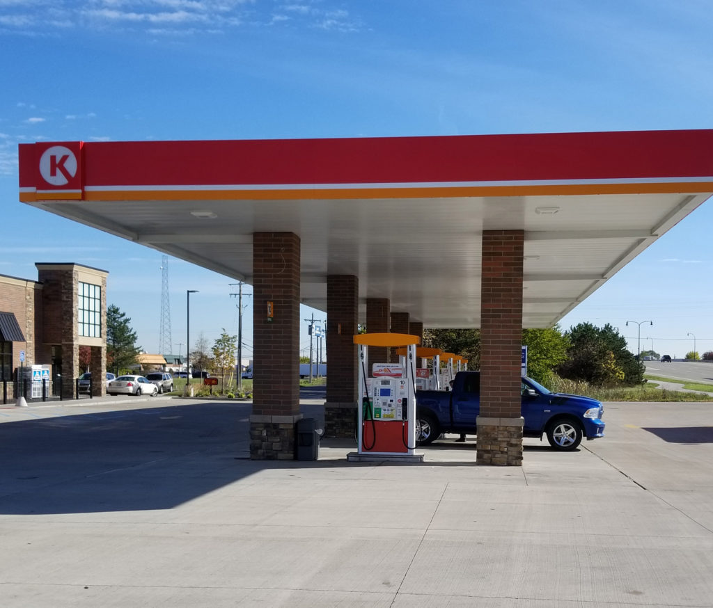 Navigate To The Closest Gas Station >> Gas Station Oscar W Larson Co Projects